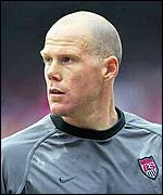 United States and Blackburn keeper Brad Friedel