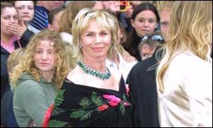 Trudie Styler also seemed to have misplaced her husband, rock star Sting