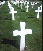 US war graves in Normandy
