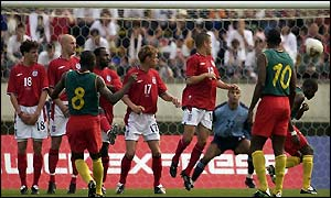 Geremi scores Cameroon's second
