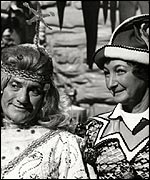 Dick Emery, Pat Coombs in 1974