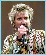 Rocker Rod Stewart came 35th in the poll carried out by music channel VH1