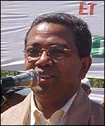 Former Prime Minister Tantely Andrianarivo