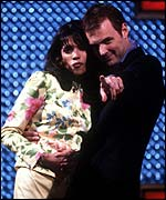 Wheel of Fortune - Jenny Powell and John Leslie
