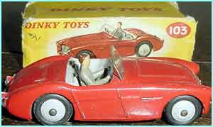 Boys went mad for Dinky toys...