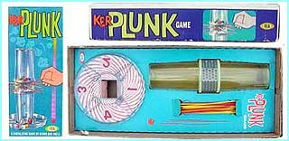 Ker Plunk, a skill game for all the family, is a massive hit in 1967