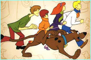 Image of the scooby doo gang