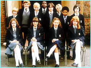 The first TV school drama series, Grange Hill, opened its gates