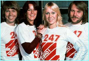 Long before Sven-Goran Eriksson, ABBA came from Sweden to storm the UK charts