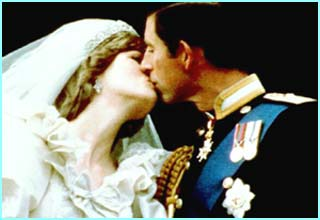 In 1981, there was a fairytale wedding between Charles and Diana