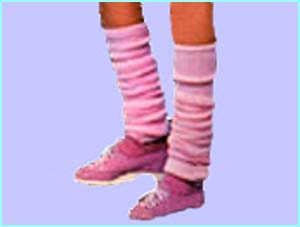 We kept our chilly legs cosy with lovely legwarmers