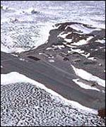 Rothera from the air