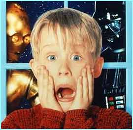 Macaulay Culkin shot to fame in the Home Alone films