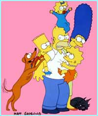 We got to know The Simpson family through the nineties
