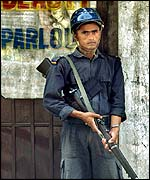 Nepalese policeman