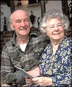 A pensioner couple