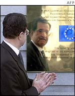 Romano Prodi opens the EU office in Moscow