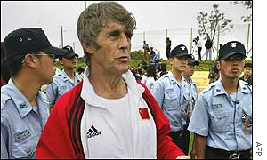 Milutinovic is expecting a difficult game against Costa Rica