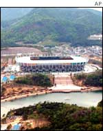 Ulsan Munsu stadium, South Korea