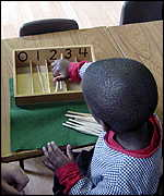 boy counting using spindles