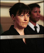 Kacey Ainsworth as Little Mo, in court