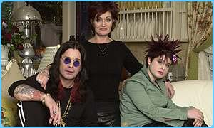 Sharon and Ozzy Osbourne with their daughter Kelly