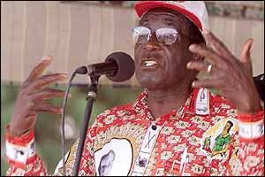 Zimbabwe Presdident Robert Mugabe