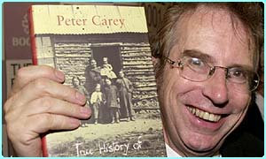 Booker Prize winner Peter Carey