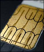 Smart chips are used on credit cards