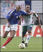 Vieira played well but his team were poor against Senegal
