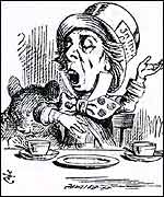 John Tenniel's Alice in Wonderland drawing