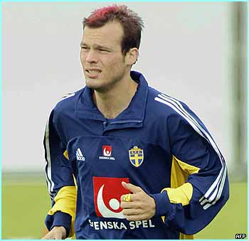 Freddie Ljungberg has been in terrific form for Arsenal, and is a main man for Sweden too