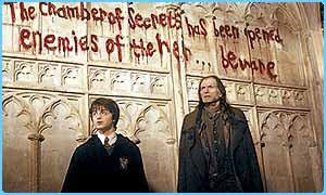 Harry Potter and Augustus Filch
