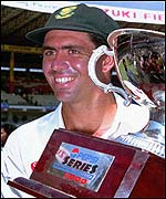 Hansie Cronje led South Africa to a series win over India in 2000