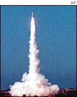 Nuclear capable Shaheen-1 missile
