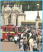 The Fire Brigade at Buckingham Palace
