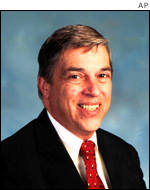 Convicted spy Robert Hanssen