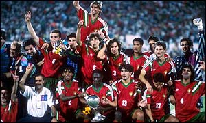 Portugal were World Youth Champions in 1991
