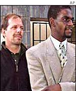 Zimbabwean journalists, Andrew Meldrum and Collin Chiwanza