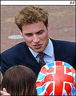 Prince William was a crowd favourite