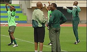 Nigeria in training
