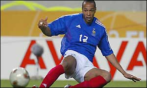 Thierry Henry-France v Senegal