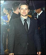 Tobey Maguire at Wednesday's premi�re