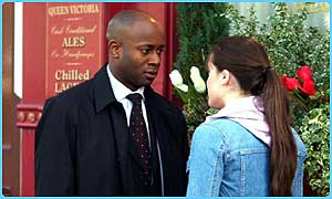 Zoe and Dr Trueman have been seeing each other in secret