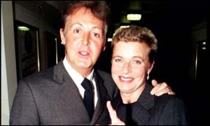 Sir Paul was married to Linda McCartney for 29 years until she died of cancer