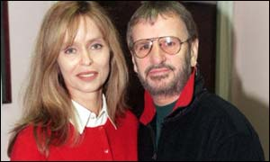 Ex-Beatle Ringo Starr and wife Barbara Bach are expected to be on the guest list