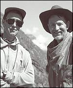 Explorer Hugh Thomson and archaeologist Gary Ziegler