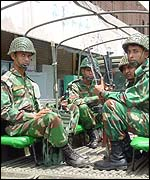 Bangladeshi troops