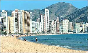 View of Benidorm