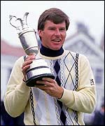 Faldo won the first of his six majors at Muirfield in 1987